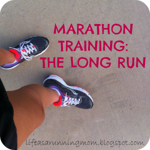 marathon training the long run